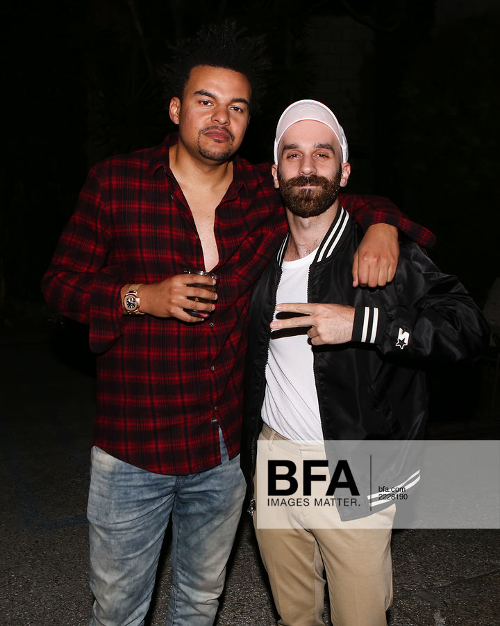 Alex da Kid, Sam Nelson Harris at Release Party for