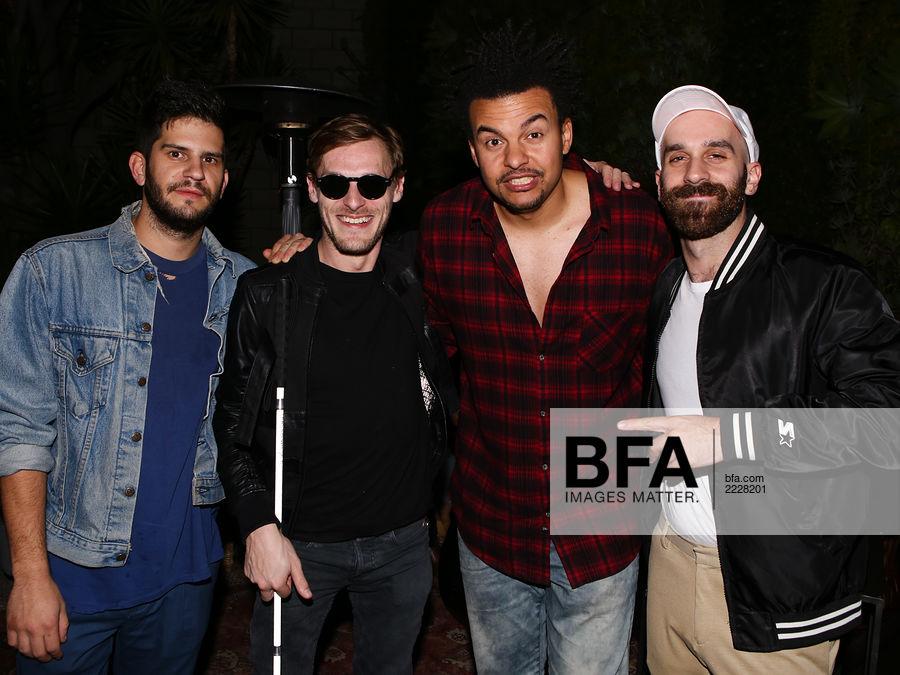 Adam Levin, Casey Harris, Alex da Kid, Sam Nelson Harris at Release