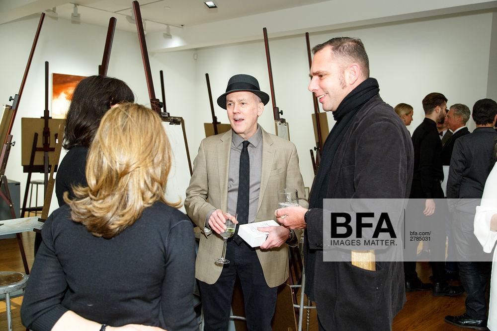 Peter Drake, Michael Grimaldi at New York Academy of Art Benefit