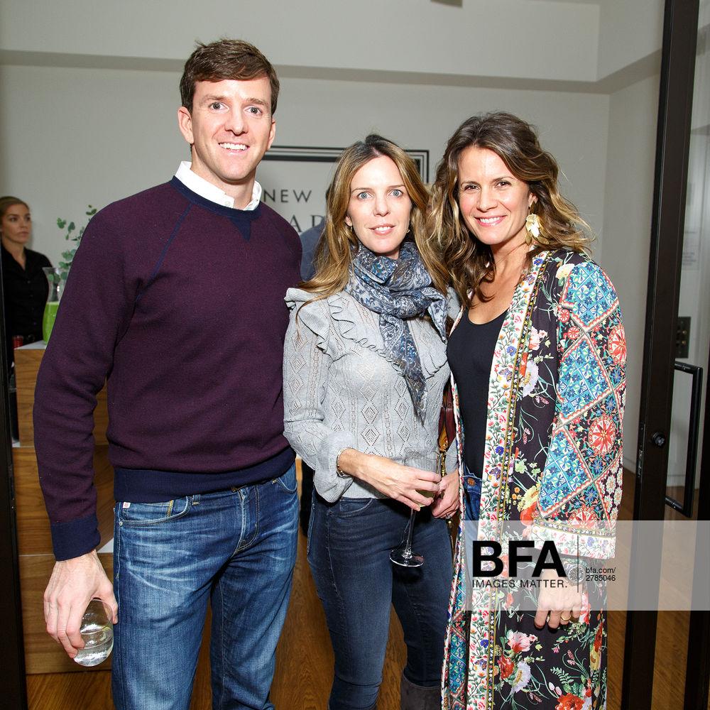 Reed Coleman, Emilia Pfeifler, Christina Di Donna at New York