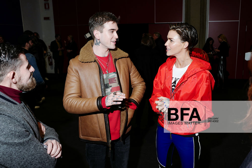 "Gabriel-Kane Day-Lewis, Ruby Rose at TOMMYNOW ""DRIVE"