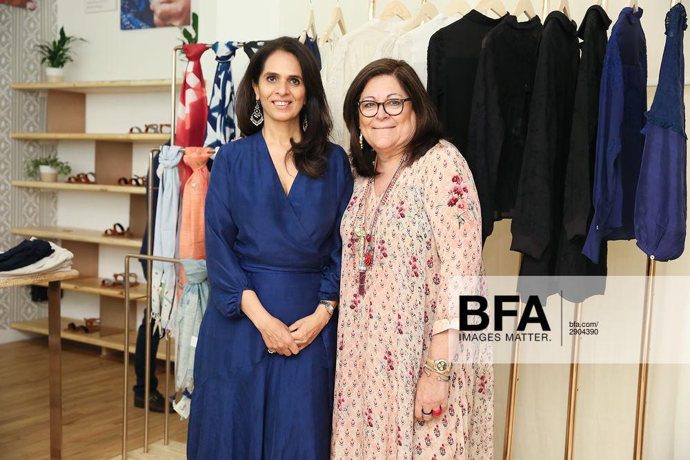 Anita Dongre, Fern Mallis at Anita Dongre : NYC Store Opening / id