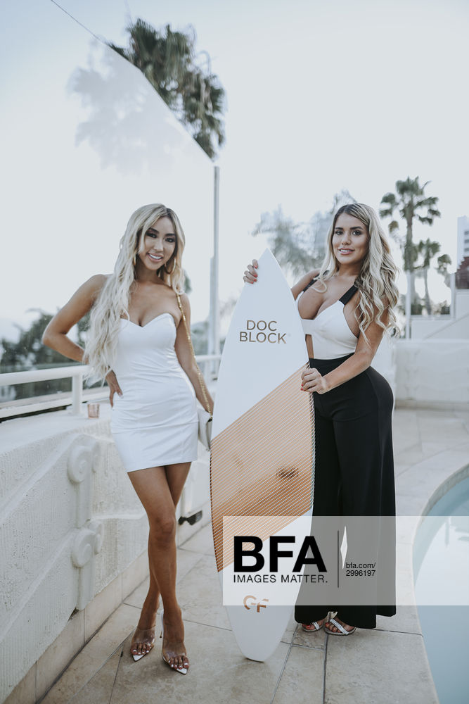 Arika Sato, Chantel Zales at DOC BLOCK: by Dr  Garth Fisher Launch