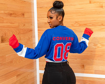 90a46a5c67fa Bernice Burgos at Converse relaunches the ERX   with Don C at NYFW   id    3058541 by Benjamin Lozovsky BFA.com