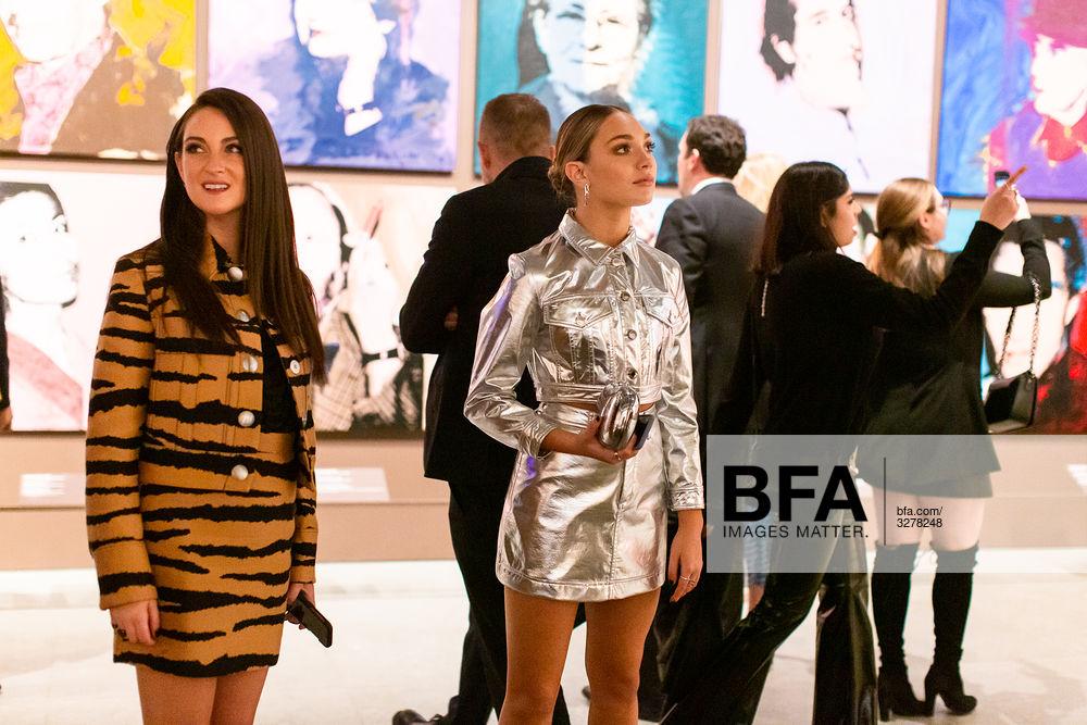 Micaela Erlanger, Maddie Ziegler at 2019 Whitney Art Party