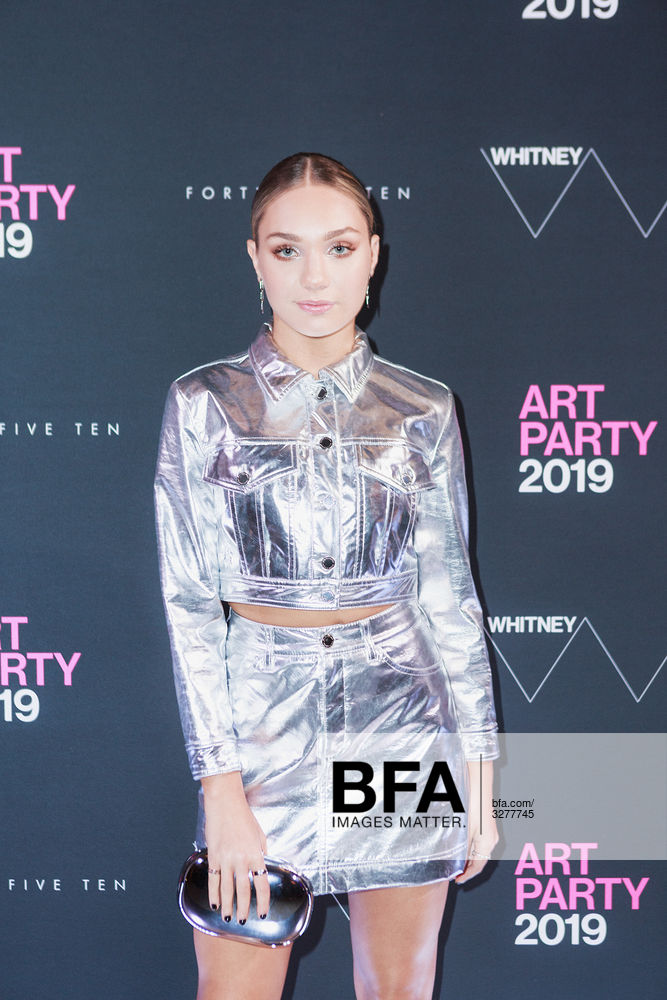 Maddie Ziegler at 2019 Whitney Art Party: Sponsored by Forty Five