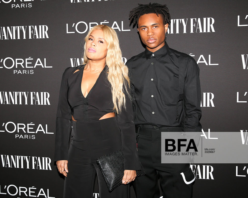 Kai Millard Morris Kailand Morris At Vanity Fair L Oreal Paris New Hollywood Party Id