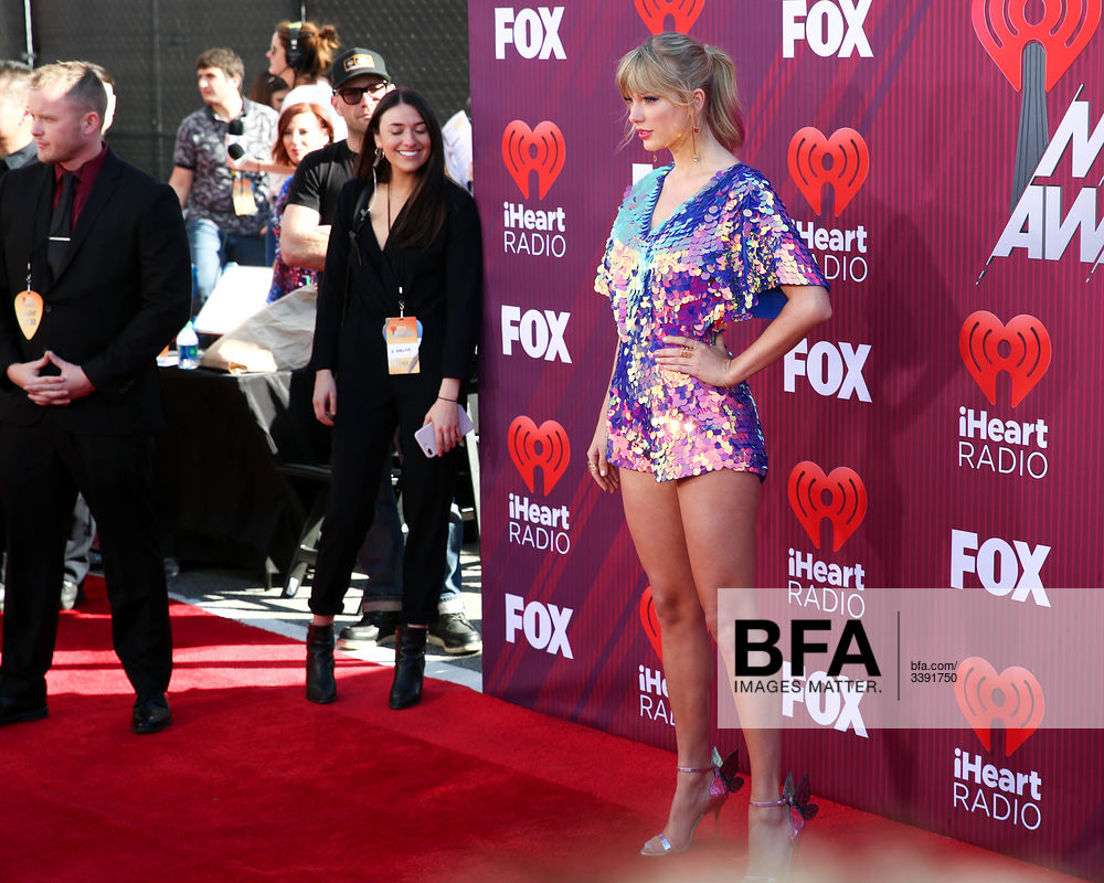 Taylor Swift at 2019 iHeartRadio Music Awards: Red Carpet