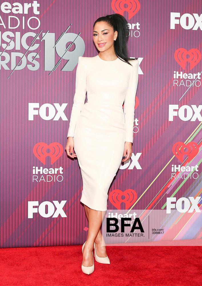 Nicole Scherzinger at 2019 iHeartRadio Music Awards: Press
