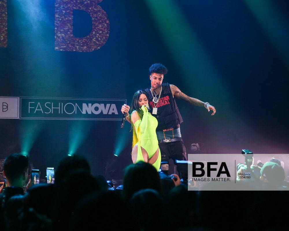 Cardi B Blueface At Fashion Nova Presents Party With Cardi Id