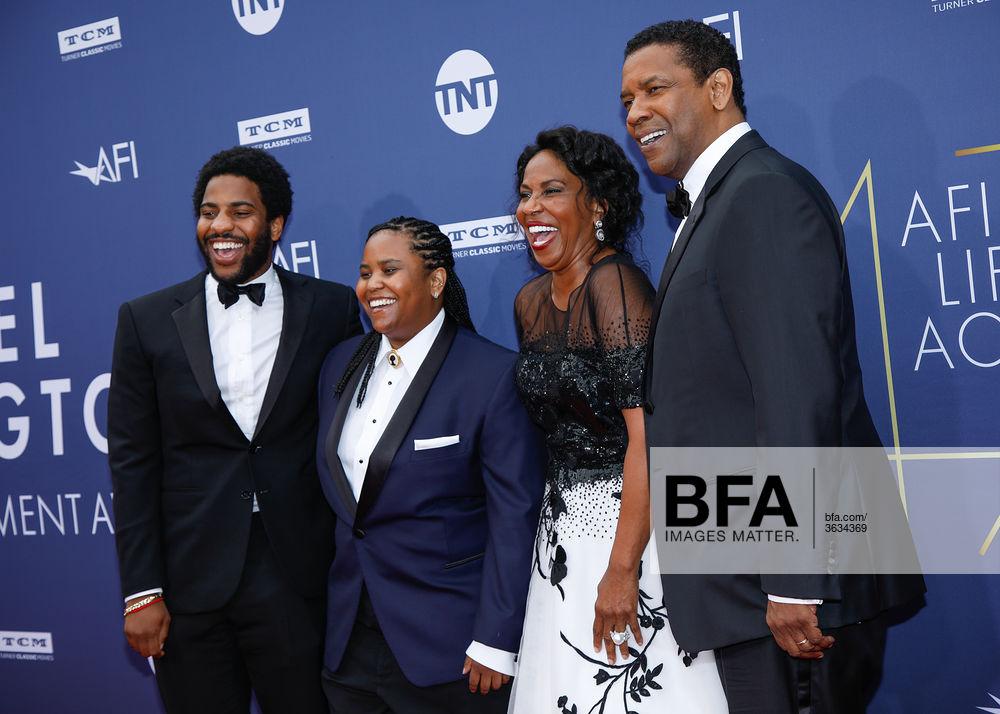 John David Washington Katia Washington Pauletta Washington Denzel Washington At 47th Afi Life Achievement Award Honoring Kate has made her mark in movies like django unchained, fences, etc. bfa com