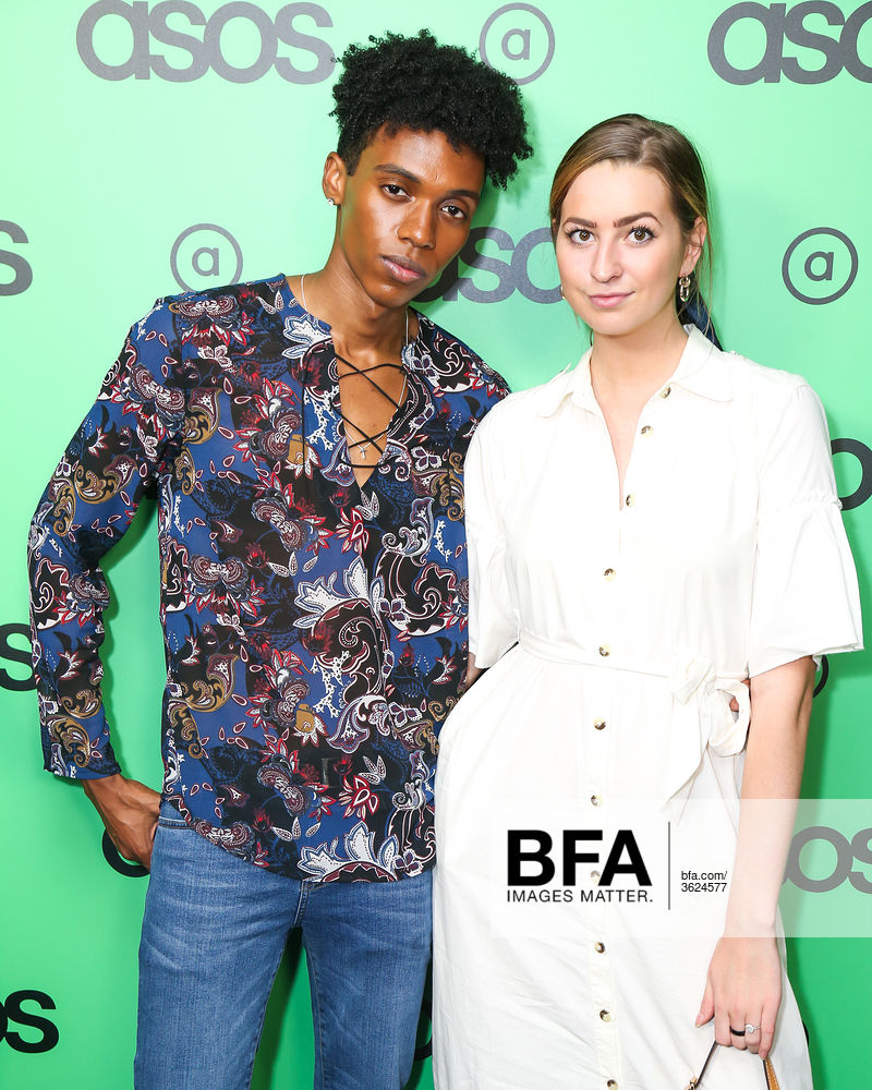 Luda Weigand, Jessica Taylor at ASOS NYFW Celebration:at