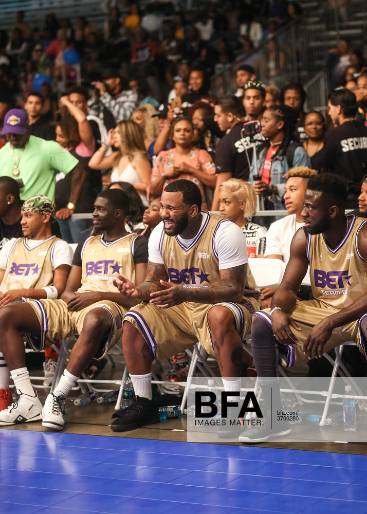 Sheck Wes, The Game at BET EXPERIENCE: FAN FEST / id