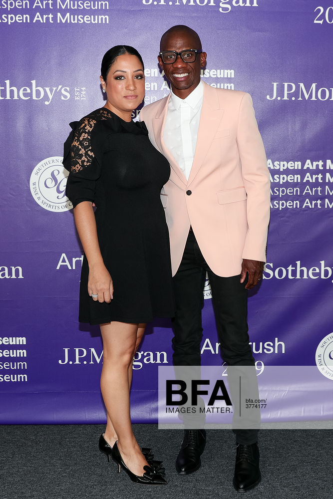 Troy Carter with kind, Wife Rebecca Carter