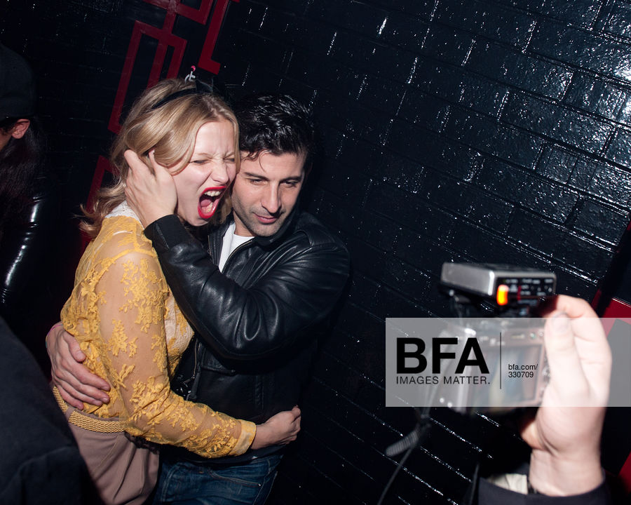 Annabelle Dexter-Jones, Andre Saraiva at COLETTE Sex Party with ACE