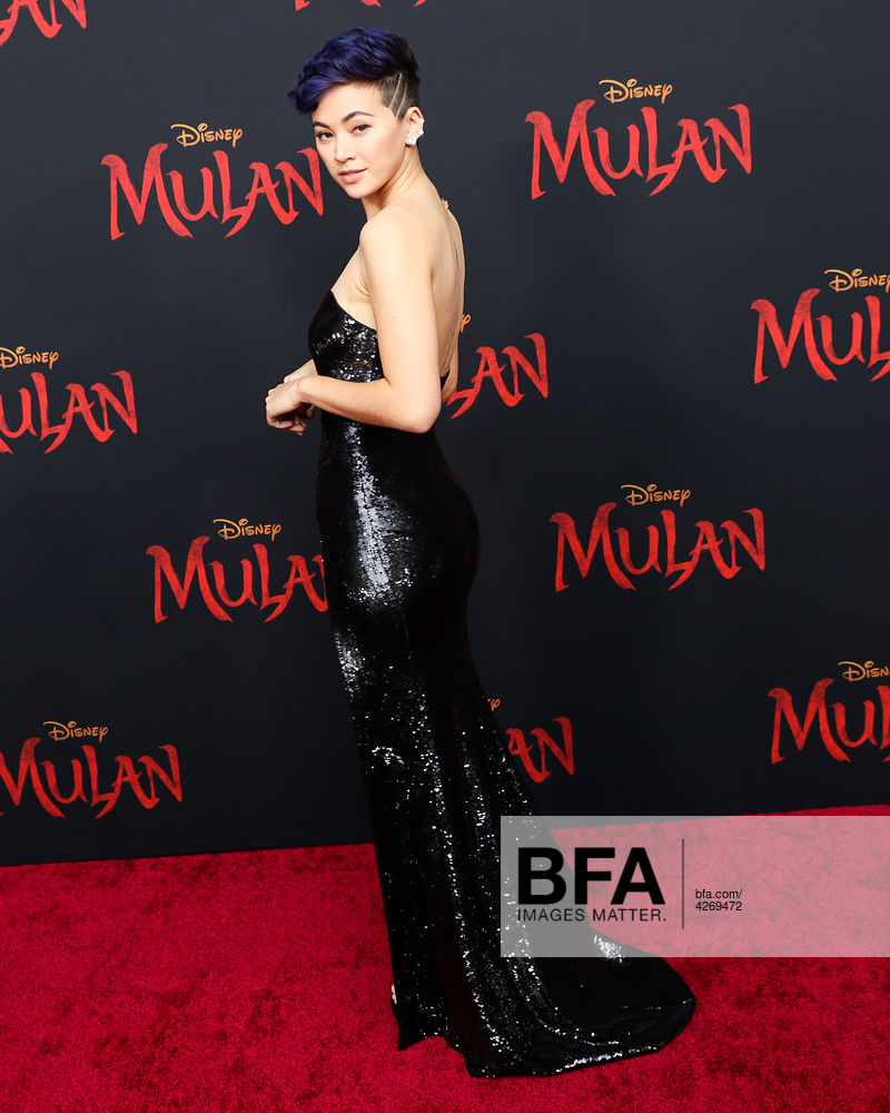 Jessica Henwick At Disney S Mulan World Premiere Id 4269472 By Virisa Yong Bfa Com