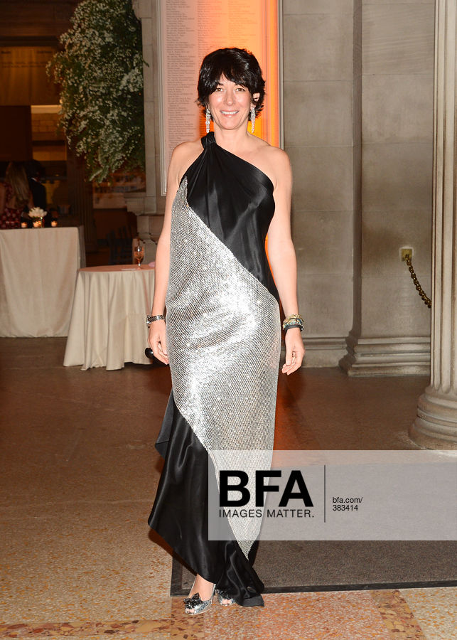 Ghislaine Maxwell at The Society of MSKCC and GUCCI host the