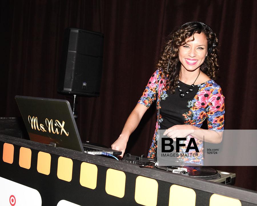 DJ Ms  Nix at TARGET