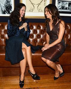 Patricia Herrera Lansing Eva Longoria At Saks Fifth Avenue And Carolina Herrera Key To The