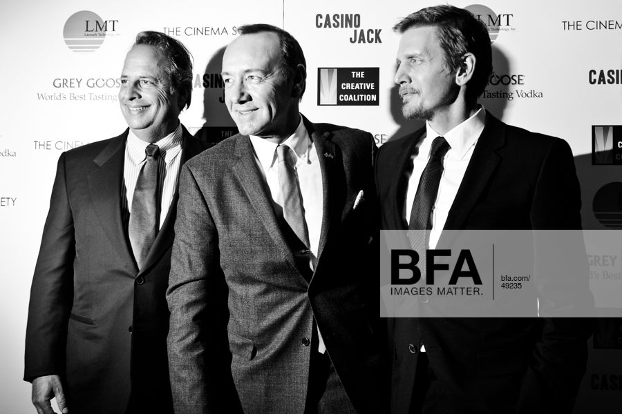 Jon Lovitz, Kevin Spacey, Barry Pepper at THE CINEMA SOCIETY