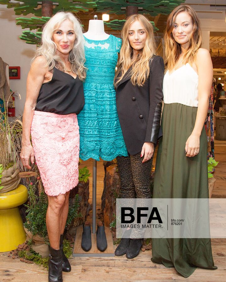 8bdd07ebcc29 Yoana Baraschi, Barbara Burchfield, Olivia Wilde at ANTHROPOLOGIE Celebrates  An Exclusive Collaboration by YOANA BARASCHI and CONSCIOUS COMMERCE in  Support ...