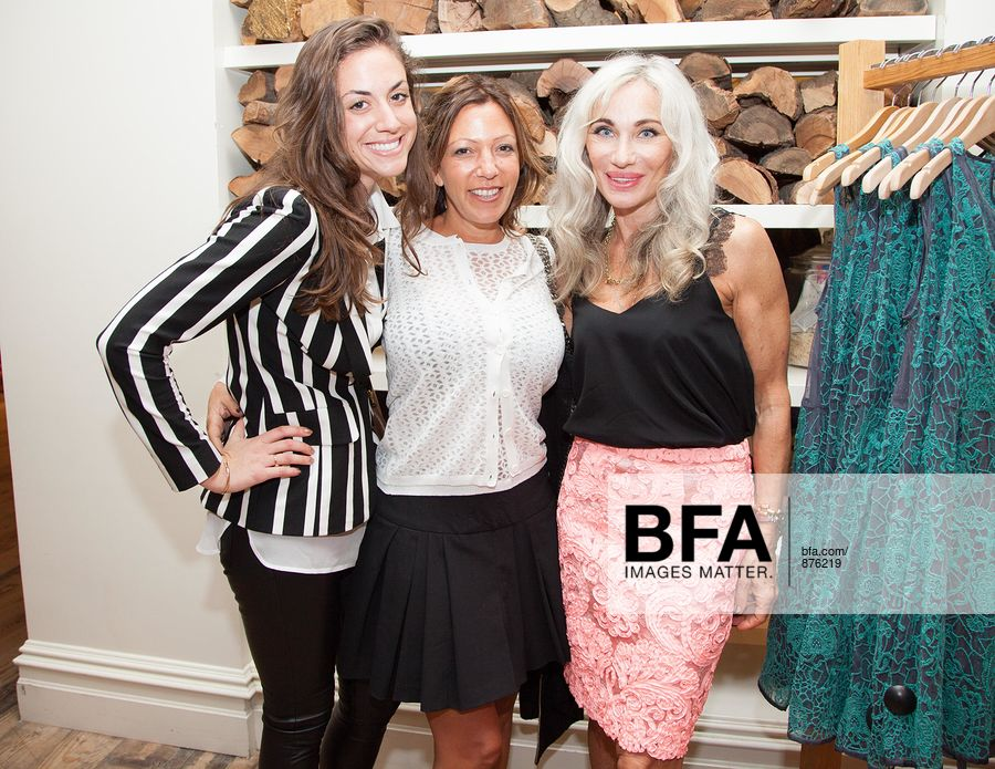 aab7783f4a39 Liza Stewart, Michelle Ontanon, Yoana Baraschi at ANTHROPOLOGIE Celebrates  An Exclusive Collaboration by YOANA BARASCHI and CONSCIOUS COMMERCE in  Support ...