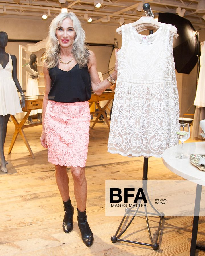 13f2bae20147 Yoana Baraschi at ANTHROPOLOGIE Celebrates An Exclusive Collaboration by YOANA  BARASCHI and CONSCIOUS COMMERCE in Support ...
