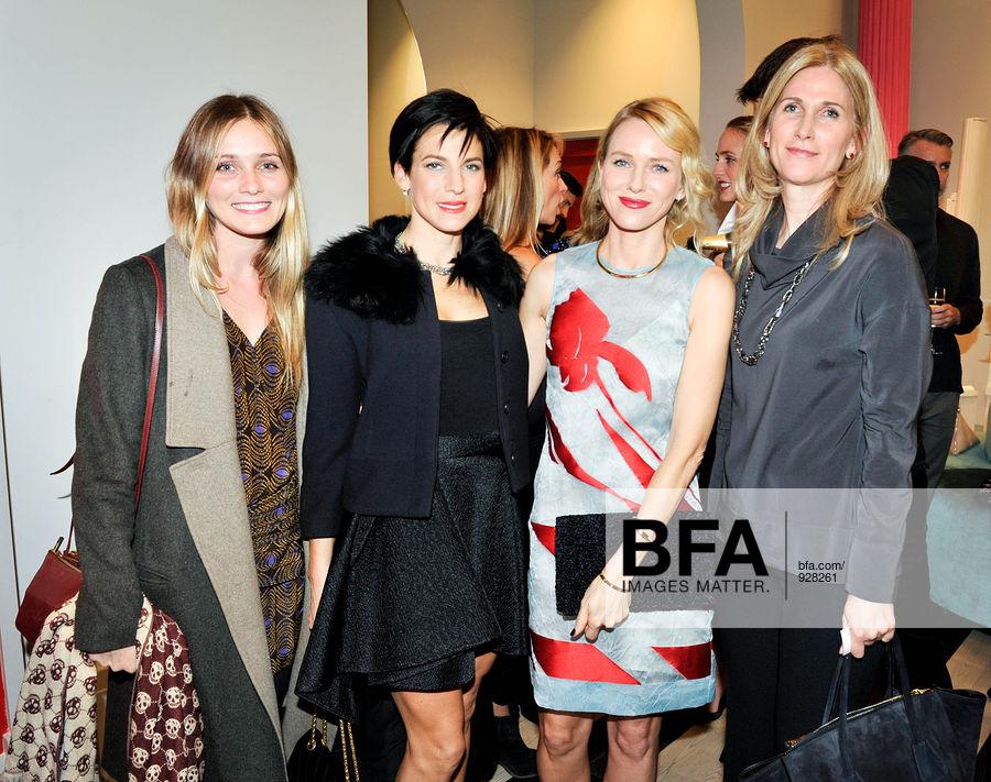 Beth Garrabrant, Jessica Seinfeld, Naomi Watts, Fiona Rubin