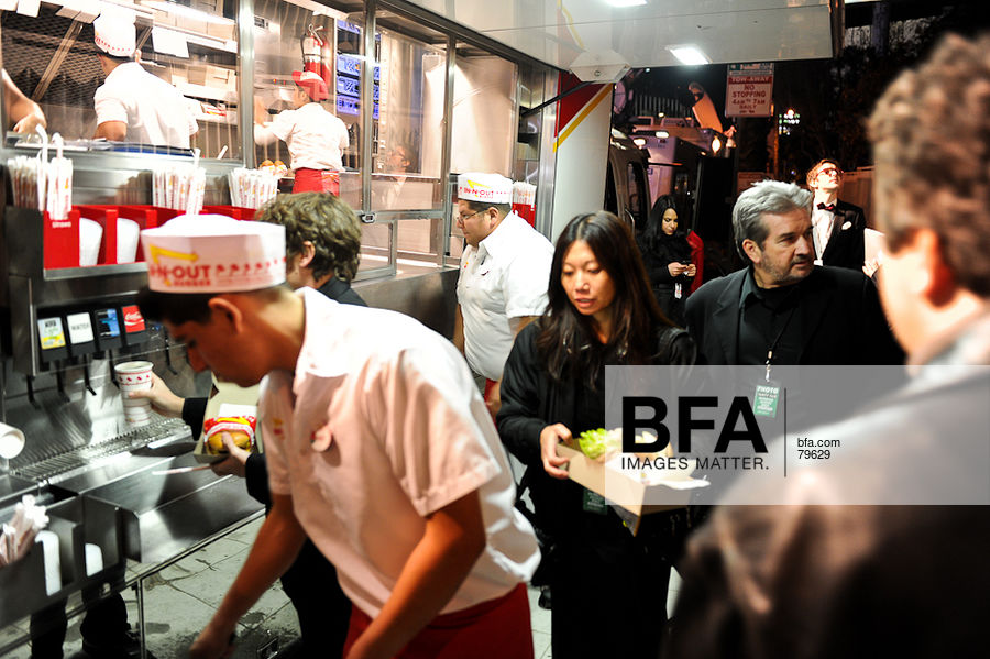 In-n-Out Burger Truck at VANITY FAIR OSCAR PARTY 2011 - Red