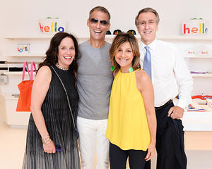 Lisa Perry Fancy Com And Hamptons Magazine Celebrate The